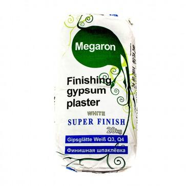 Шпаклевка гипсовая Супер Финиш GT-120 20 кг Megaron
