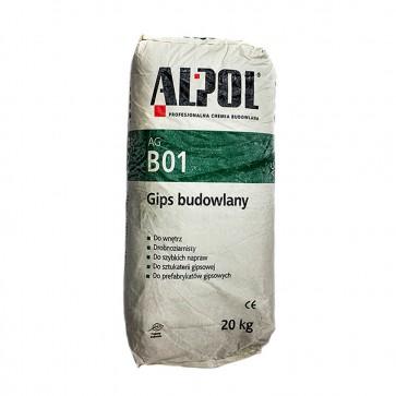 Гипс строительный Alpol 20 кг