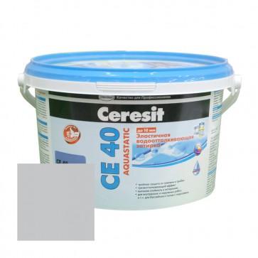 Затирка для швов 1-10 мм CE 40 Aquastatic манхеттен Ceresit 2 кг