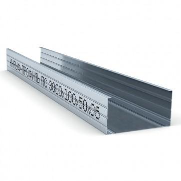 Профиль стоечный 100х50 мм 3000х0,6 мм Knauf CW