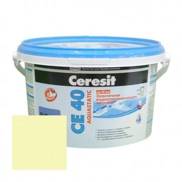Затирка для швов 1-10 мм CE 40 Aquastatic сахара Ceresit 2 кг