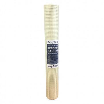 Сетка армирующая для цоколя панцирная Крепикс САУ 320 320г/м2 8,5х8,5 мм 1х25 м БауТекс
