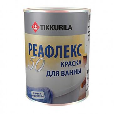 Эмаль для ванн эпоксидная глянцевая Reaflex 50 белая 0,8 л