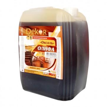Олифа натуральная Оксоль Dekor 4,5 л