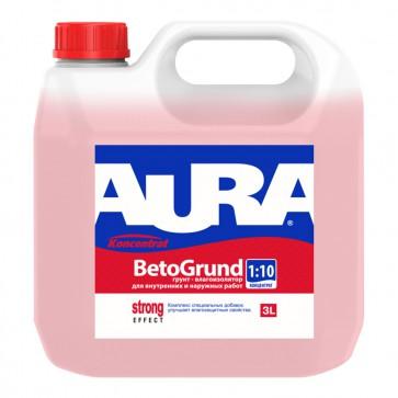 Грунтовка-влагоизолятор концентрат 3 л Beto Grund Aura