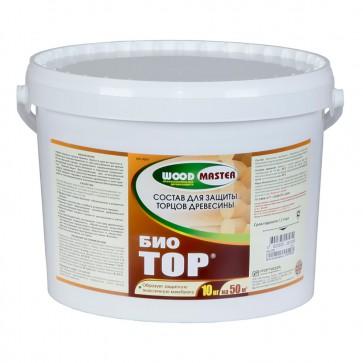 Состав для защиты торцов древесины WoodMaster БиоТор 10 кг