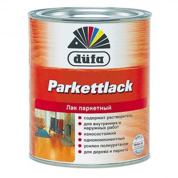 Лак паркетный алкидно-уретановый полуматовый Parkettlack Dufa бесцветный 0,75 л