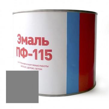 Эмаль алкидная полуматовая ПФ-115 Discount серая 1,8 кг