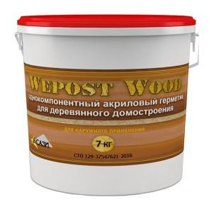 Герметик для дерева Wepost Wood сосна американская 7 кг