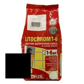 Затирка для швов 1-6 мм С470 черная LITOCHROM 1-6 Litokol 2 кг