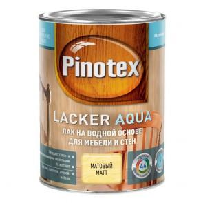 Лак мебельный акриловый матовый Lacker Aqua Pinotex 10 1 л