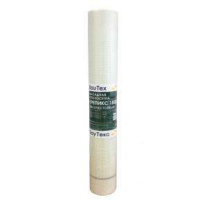 Сетка армирующая фасадная из стекловолокна Крепикс 1800 160 г/м2 4х4 мм 1х50 м БауТекс