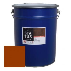 Эмаль для пола алкидная ПФ-266 Status красно-коричневая 20 кг