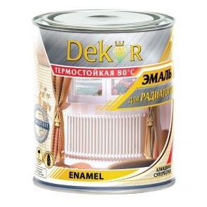 Эмаль для радиаторов глянцевая Dekor 0,8 кг