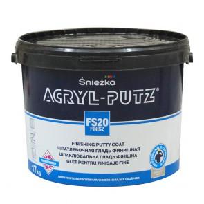 Шпаклевка акриловая FS20 FINISZ ACRYL-PUTZ Sniezka 17 кг